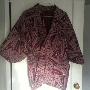 Jackets & Blazers - Beautiful quilted kimono coat jacket